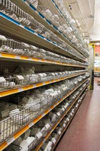 plastic shelf strips