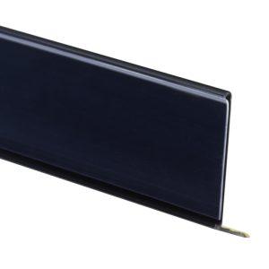 black angled molding